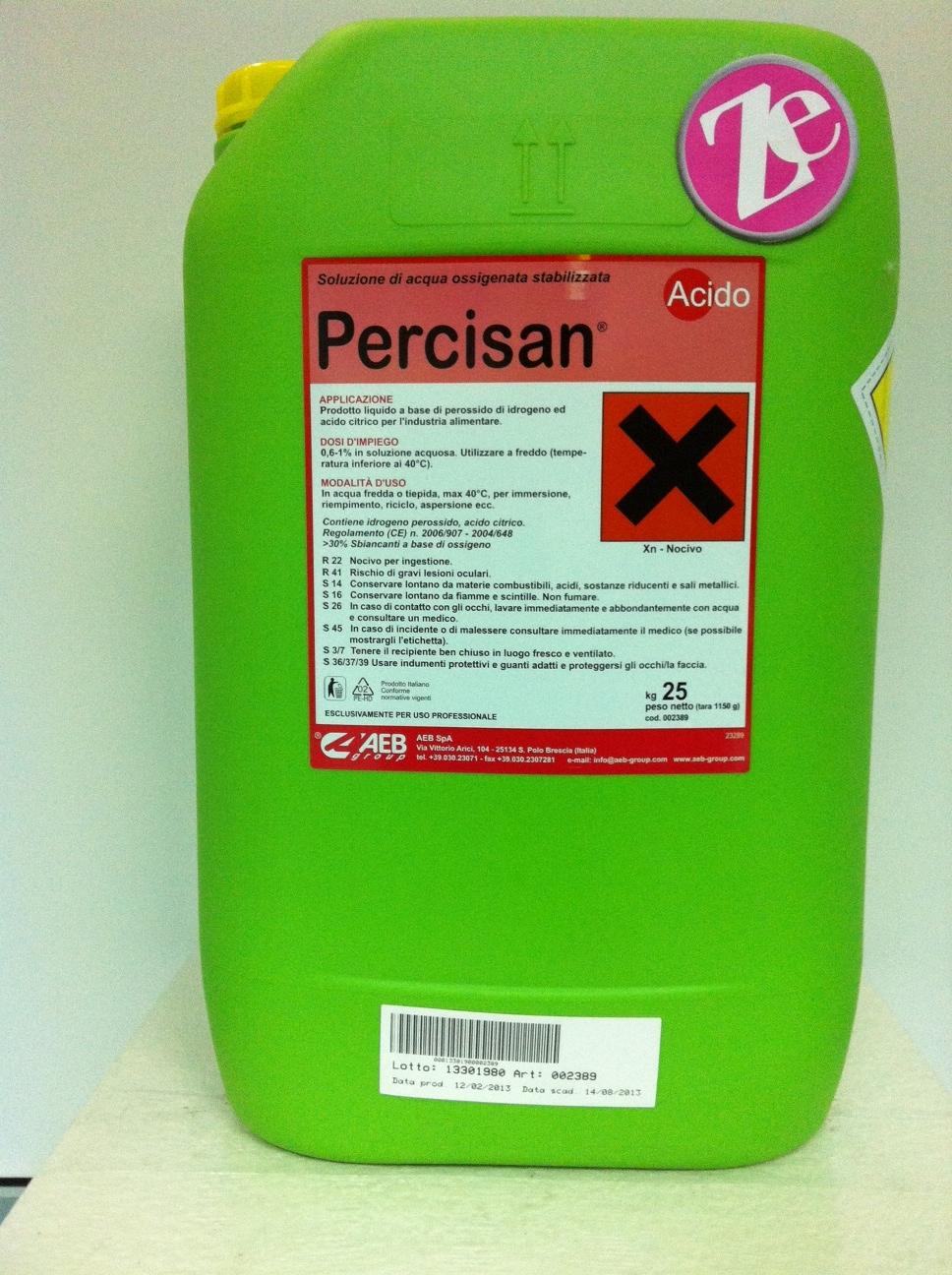 Acido Citrico Dosi Alimentari sanificante a base di perossido di idrogeno ed acido citrico
